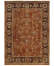 """Oriental Weavers Casablanca 4465E Orange/Mink 7'10"""" x 10'10"""" Area Rug"""