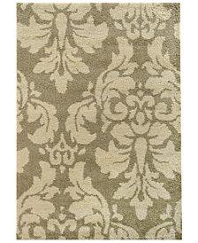 "Oriental Weavers Covington Shag 8021W Ivory/Beige 5'3"" x 7'6"" Area Rug"