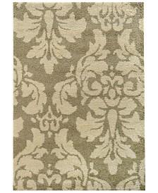 "Oriental Weavers Covington Shag 8021W Ivory/Beige 6'7"" x 9'6"" Area Rug"