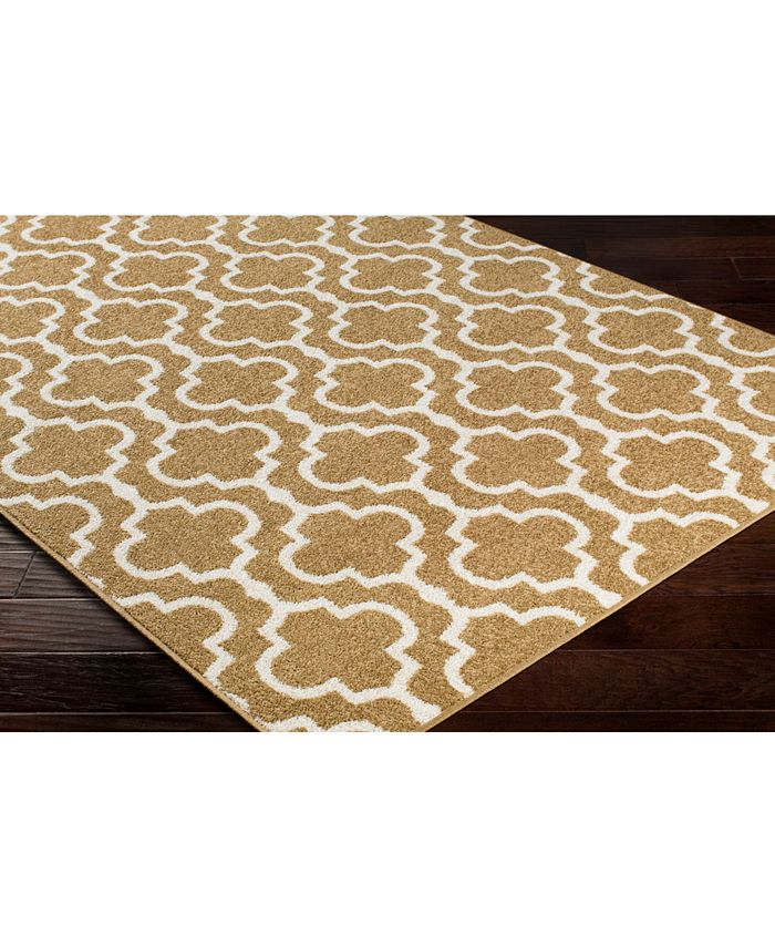 """Abbie & Allie Rugs - Seville SEV-2324 Tan 18"""" Square Swatch"""