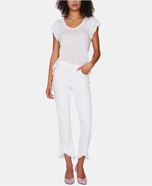 Sanctuary Modern Straight-Leg Capri Jeans