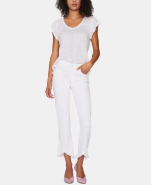 Sanctuary Jeans MODERN STRAIGHT-LEG CAPRI JEANS