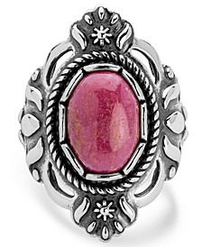 Classics Rhodonite Ring in Sterling Silver
