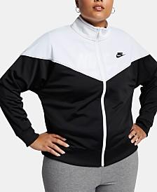 Nike Plus Size Sportswear Heritage Track Jacket