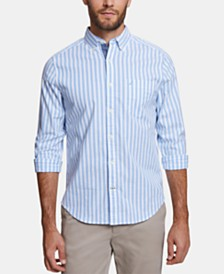 Nautica Men's Classic Fit Striped Oxford Shirt