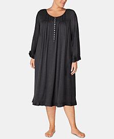 Eileen West Plus Size Waltz Nightgown