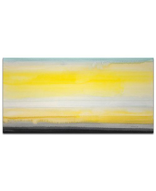 "Ready2HangArt 'Glow' Canvas Wall Art, 18x36"""
