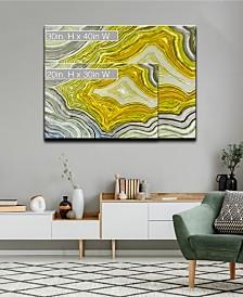 Ready2HangArt 'Warm Geode' Canvas Wall Art Collection