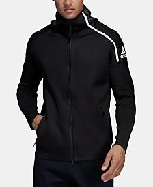 adidas Men's ZNE Hybrid Zip Hoodie