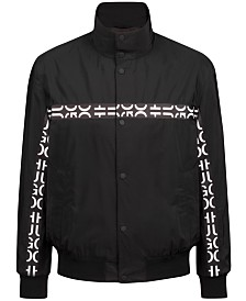 HUGO Men's Logo Bomber Jacket