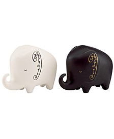Salt and Pepper Shakers, Woodland Park Elephant
