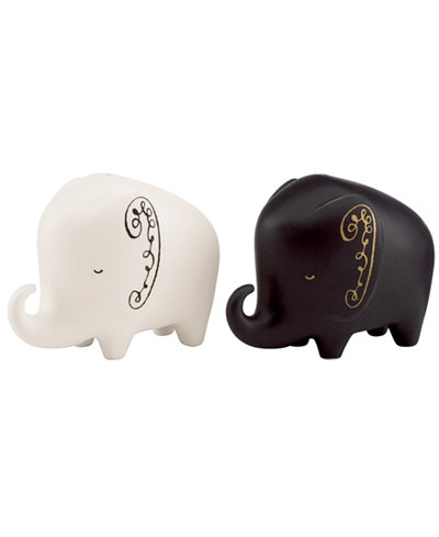 kate spade new york Salt and Pepper Shakers, Woodland Park Elephant