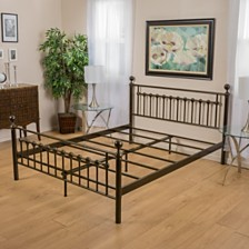 Swiman Queen Bed Frame, Quick Ship
