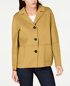 Weekend Max Mara 3-Button Patch-Pocket Jacket
