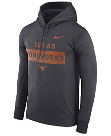 Nike Men's Texas Longhorns Staff Pullover Hooded Sweatshirt