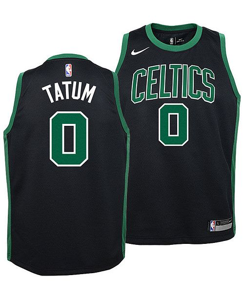 huge discount eadad 4df53 Boston Celtics Jayson Tatum Statement Swingman Jersey, Big Boys (8-20)