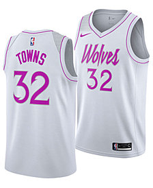 Nike Men's Karl-Anthony Towns Minnesota Timberwolves Earned Edition Swingman Jersey
