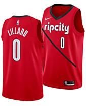 official photos c82a7 cc4df Nike Mens Damian Lillard Portland Trail Blazers Earned Edition Swingman  Jersey