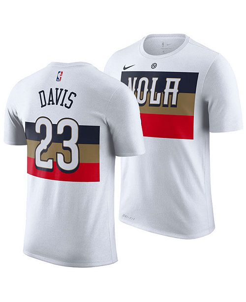 530e849398e ... Nike Men s Anthony Davis New Orleans Pelicans Earned Edition Player T-  ...