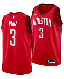 Nike Men's Chris Paul Houston Rockets Earned Edition Swingman Jersey