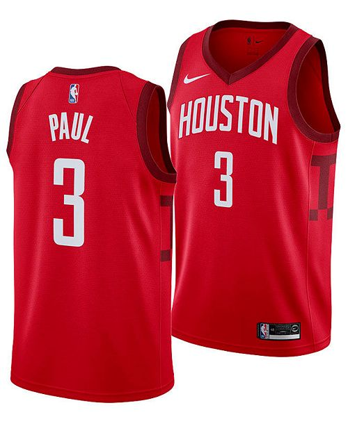 the latest 3ee52 588a3 Nike Men's Chris Paul Houston Rockets Earned Edition ...