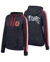 c1bb8648 Authentic NCAA Apparel Women's Ohio State Buckeyes Handstand Hooded  Sweatshirt