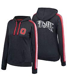 Authentic NCAA Apparel Women's Ohio State Buckeyes Handstand Hooded Sweatshirt
