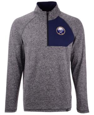 Men's Buffalo Sabres Static Quarter-Zip Pullover