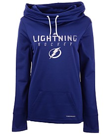 Majestic Women's Tampa Bay Lightning Cowl Neck Hoodie