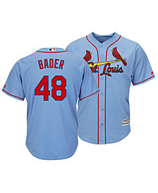 Majestic Men's Harrison Bader St. Louis Cardinals Player Replica Cool Base Jersey