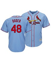 013d81546 Majestic Men s Harrison Bader St. Louis Cardinals Player Replica Cool Base  Jersey