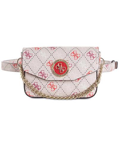 GUESS Landon Signature Belt Bag