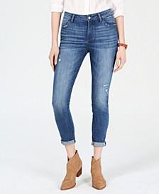 Kristen Cuffed Ripped Jeans