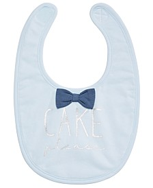 First Impressions Baby Boys Bowtie Bib, Created for Macy's