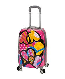 "Rockland Love 20"" Polycarbonate Carry-On"