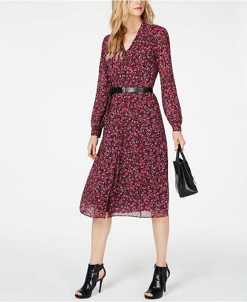 4fc7838ed Michael Kors Grand Papillon Shirtdress   Reviews - Dresses - Women ...