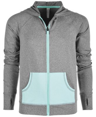 Big Girls Mesh-Pocket Hooded Jacket, Created for Macy's