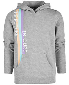 Ideology Big Girls Future-Print Hoodie, Created for Macy's