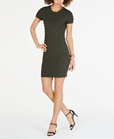 MICHAEL Michael Kors Scalloped-Trim Dress