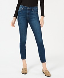 Joe's Charlie High-Rise Ankle Skinny Jeans