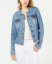 Kara Fray Hem Denim Jacket