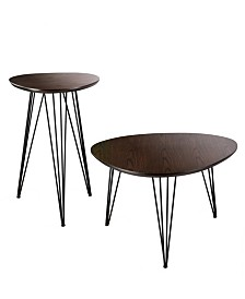 Holly and Martin Bannock 2 Piece Table Set