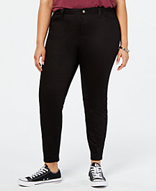 Dickies Plus Size Skinny Ankle Pants
