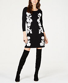 I.N.C. Lace-Trim Sweater Tunic, Created for Macy's