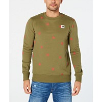 Deals on G-Star Raw Mens Straight-Fit Scattered-Print Sweater