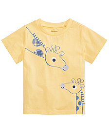 First Impressions Toddler Boys Giraffes Graphic T-Shirt, Created for Macy's