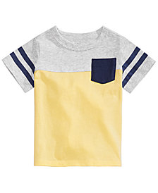 First Impressions Baby Boys Athletic Stripe T-Shirt, Created for Macy's