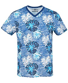 American Rag Men's V-Neck Floral T-Shirt, Created for Macy's
