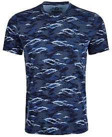 American Rag Men's Wave Camouflage T-Shirt, Created for Macy's