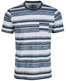 American Rag Men's Variegated Textured Stripe Pocket T-Shirt, Created for Macy's